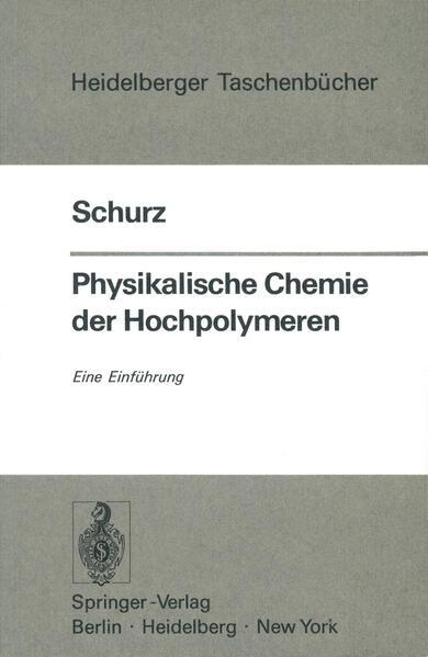 Physikalische Chemie der Hochpolymeren - Coverbild