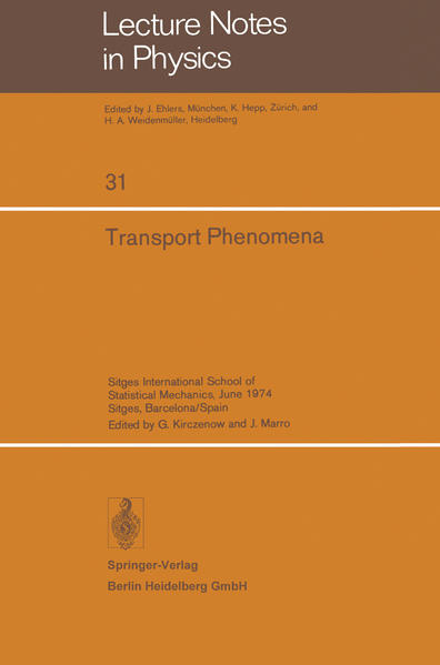 Transport Phenomena - Coverbild