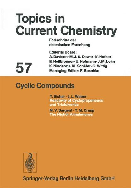 Cyclic Compounds - Coverbild
