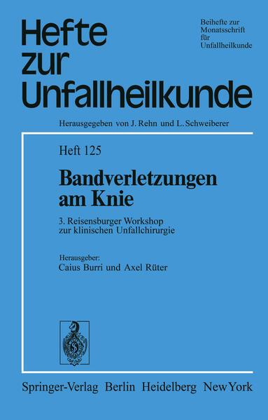Bandverletzungen am Knie - Coverbild