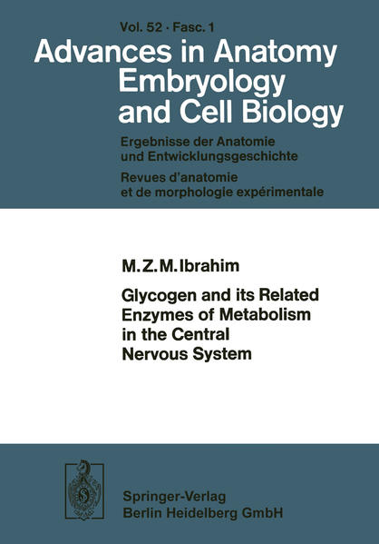 Glycogen and its Related Enzymes of Metabolism in the Central Nervous System - Coverbild