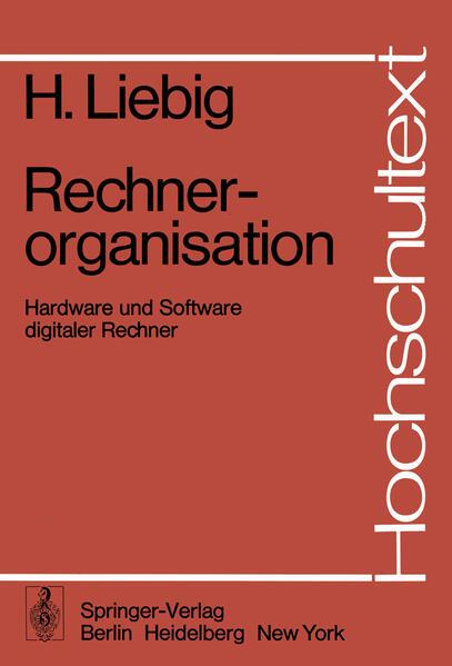 Rechnerorganisation - Coverbild