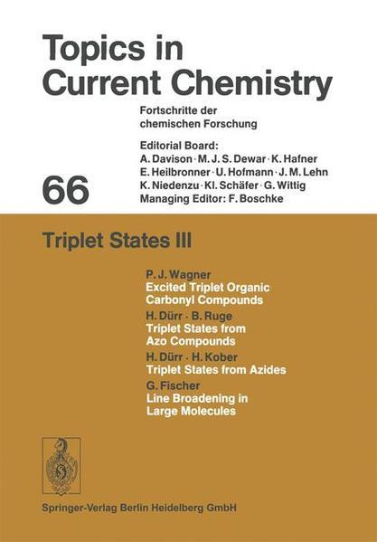 Triplet States III - Coverbild