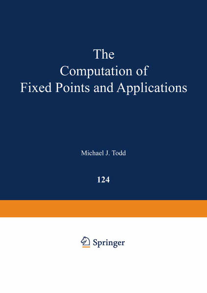 The Computation of Fixed Points and Applications - Coverbild