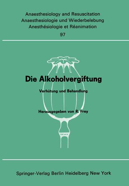 Die Alkoholvergiftung - Coverbild