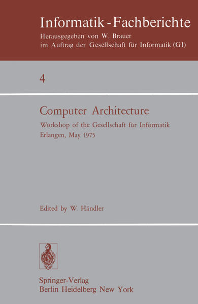Computer Architecture - Coverbild