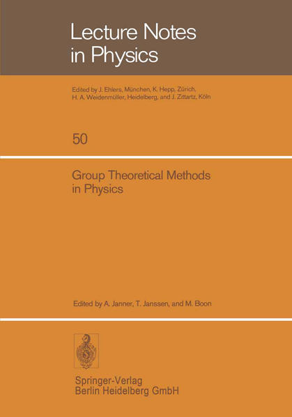 Group Theoretical Methods in Physics - Coverbild