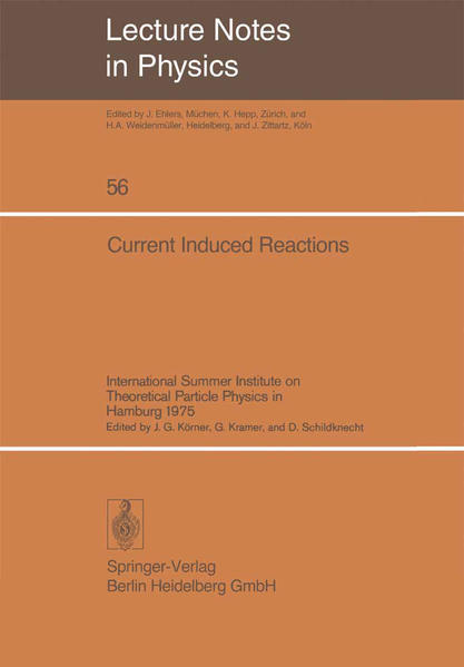 Current Induced Reactions - Coverbild