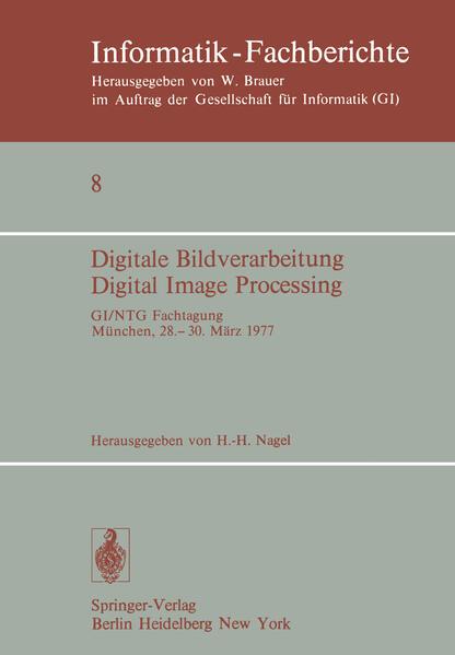 Digitale Bildverarbeitung Digital Image Processing - Coverbild