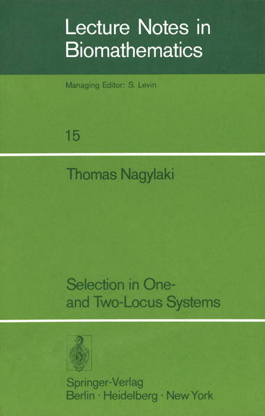 Selection in One- and Two-Locus Systems - Coverbild