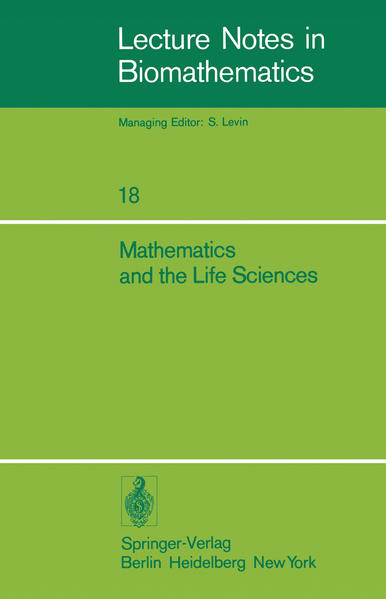 Mathematics and the Life Sciences - Coverbild