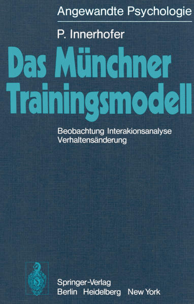 Das Münchner Trainingsmodell - Coverbild