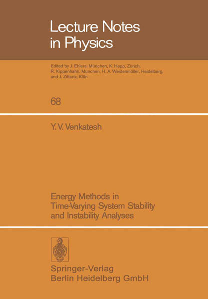 Energy Methods in Time-Varying System Stability and Instability Analyses - Coverbild