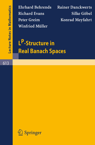 LP-Structure in Real Banach Spaces - Coverbild
