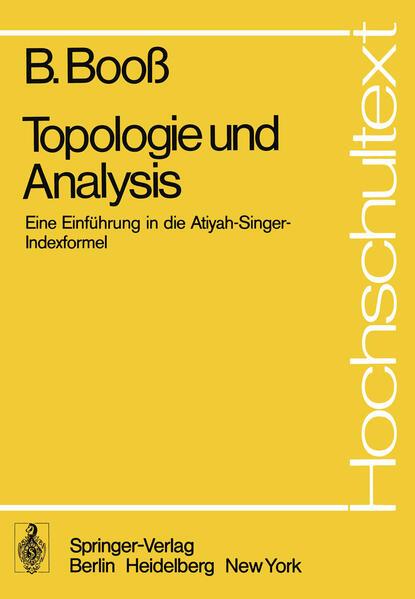 Topologie und Analysis - Coverbild