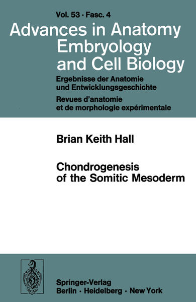 Chondrogenesis of the Somitic Mesoderm - Coverbild