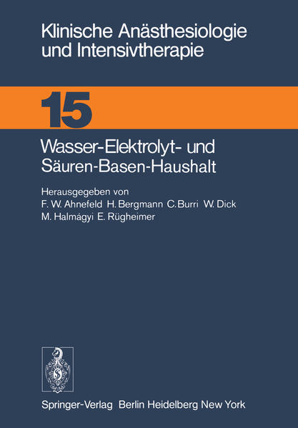 Wasser-Elektrolyt- und Säuren-Basen-Haushalt - Coverbild