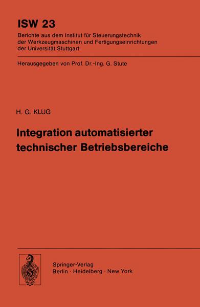 Integration automatisierter technischer Betriebsbereiche - Coverbild