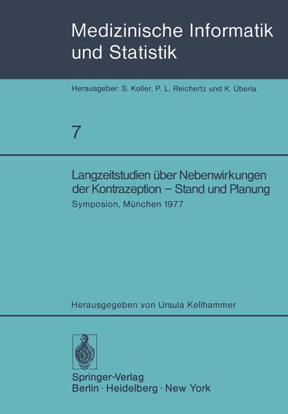 Langzeitstudien über Nebenwirkungen der Kontrazeption — Stand und Planung - Coverbild