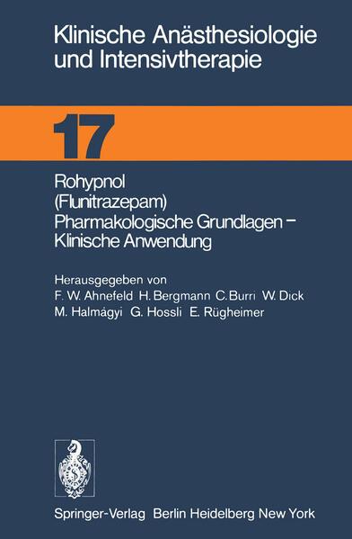 Rohypnol (Flunitrazepam), Pharmakologische Grundlagen, Klinische Anwendung - Coverbild