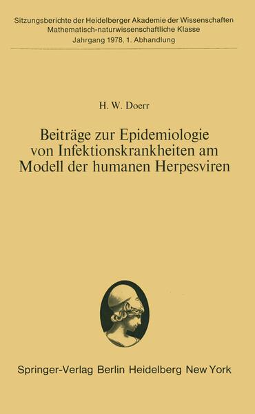 Beiträge zur Epidemiologie von Infektionskrankheiten am Modell der humanen Herpesviren - Coverbild