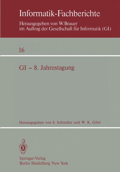 GI — 8. Jahrestagung - Coverbild