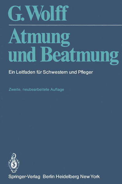 Atmung und Beatmung - Coverbild