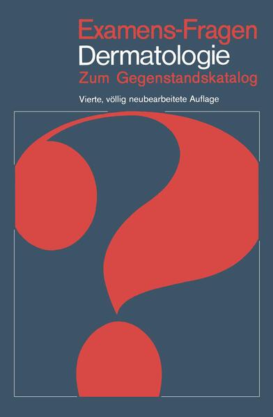 Examens-Fragen Dermatologie - Coverbild