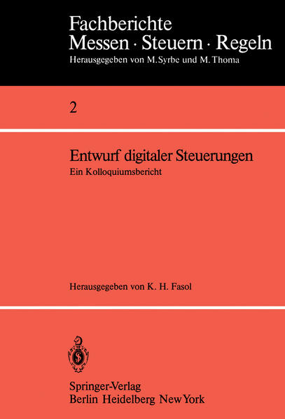 Entwurf digitaler Steuerungen - Coverbild