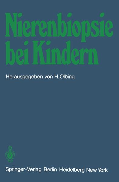 Nierenbiopsie bei Kindern - Coverbild