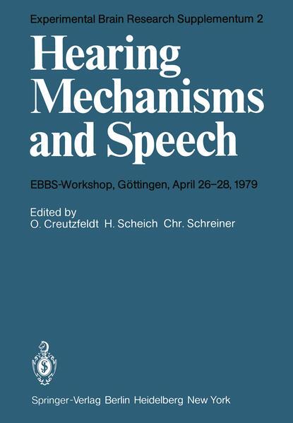 Hearing Mechanisms and Speech MOBI Herunterladen
