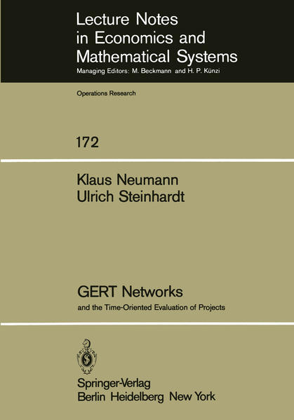 GERT Networks and the Time-Oriented Evaluation of Projects - Coverbild