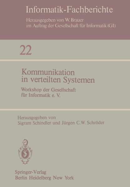 Kommunikation in verteilten Systemen - Coverbild