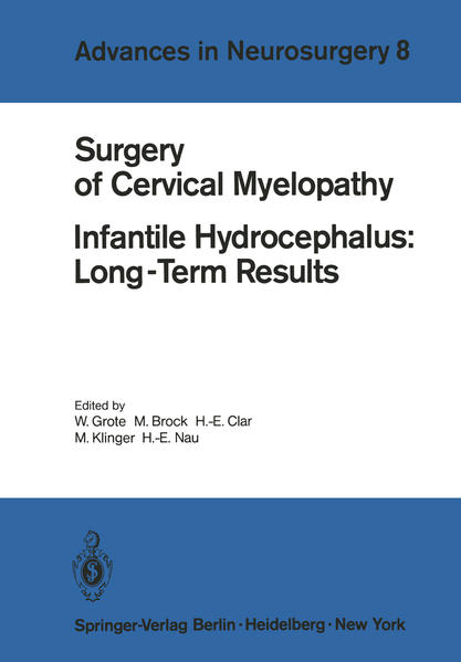 Surgery of Cervical Myelopathy - Coverbild