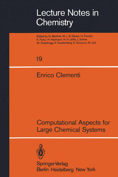 Computational Aspects for Large Chemical Systems - Coverbild