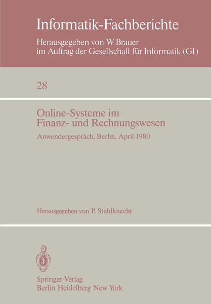 Online-Systeme im Finanz- und Rechnungswesen - Coverbild