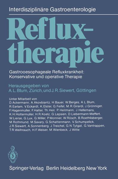 Refluxtherapie - Coverbild