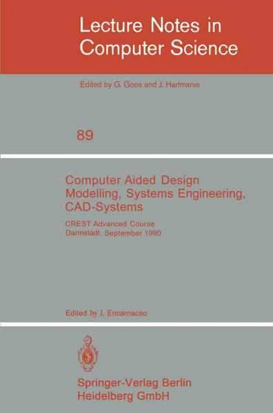 Computer Aided Design Modelling, Systems Engineering, CAD-Systems - Coverbild