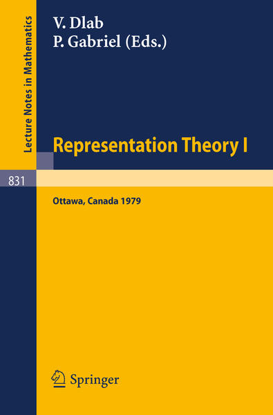 Representation Theory I - Coverbild