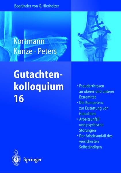 Gutachtenkolloquium 16 - Coverbild