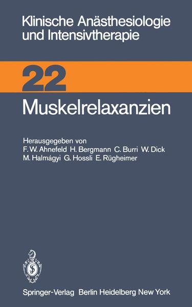 Muskelrelaxanzien - Coverbild
