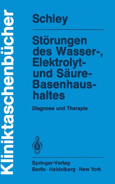 Störungen des Wasser-, Elektrolyt- und Säure-Basenhaushaltes - Coverbild