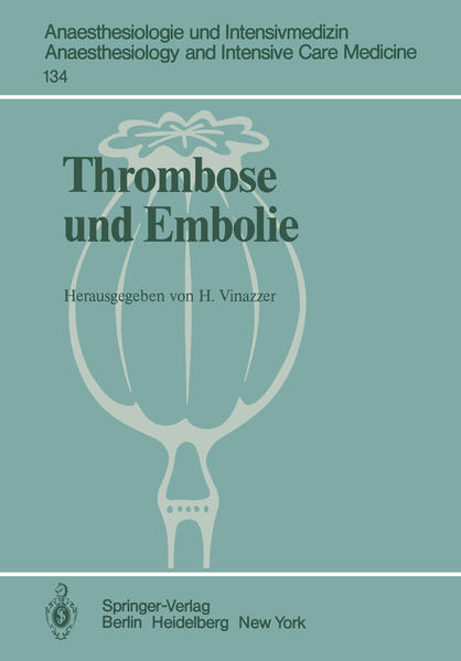 Thrombose und Embolie - Coverbild