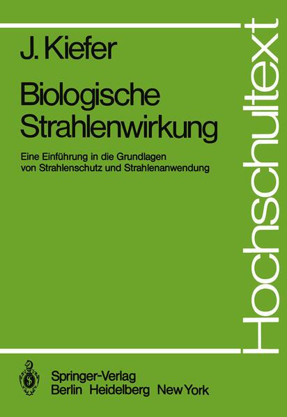 Biologische Strahlenwirkung - Coverbild