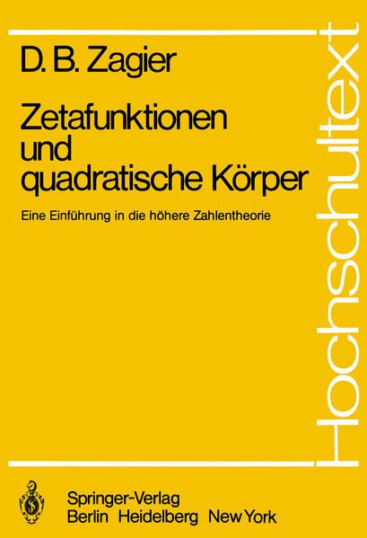 Zetafunktionen und quadratische Körper - Coverbild