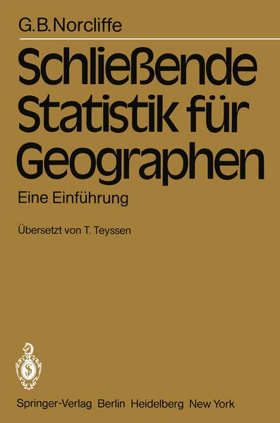 Schließende Statistik für Geographen - Coverbild
