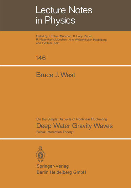 On the Simpler Aspect of Nonlinear Fluctuating Deep Water Gravity Waves - Coverbild