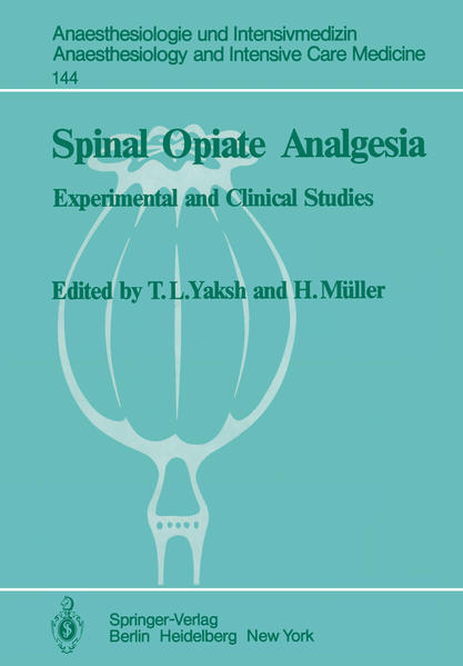 Spinal Opiate Analgesia - Coverbild
