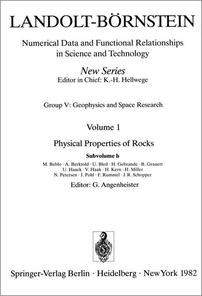 Physical Properties of Rocks - Coverbild