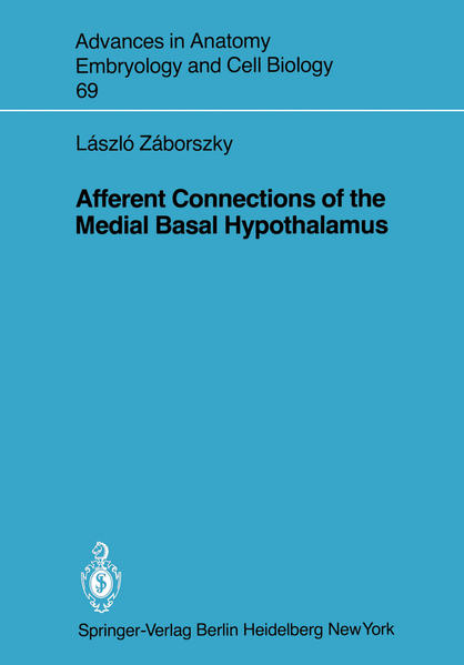 Afferent Connections of the Medial Basal Hypothalamus - Coverbild